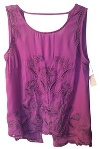 The Impeccable Pig Sleeveless Sleeveless Lavender Lavender Top Purple