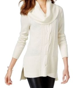 INC International Concepts 5d487wh899 Cowl-neck Long-sleeve 3515-0242 Sweater