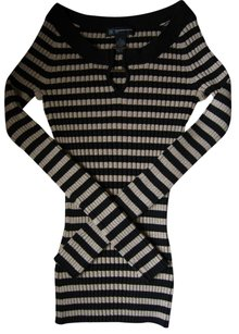 INC International Concepts Silk Striped Sweater