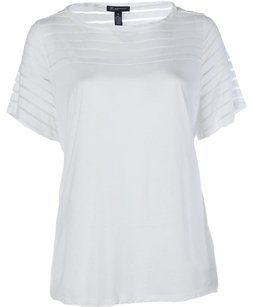 INC International Concepts Top bright white