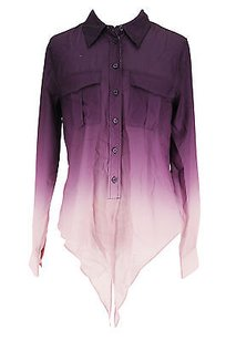 INC International Concepts Good Womens Top purple