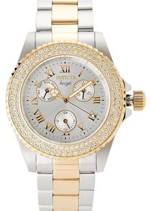 Invicta Two-Tone Angel Collection Chronograph Watch