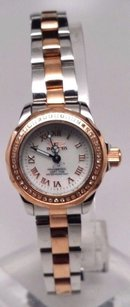 Invicta Womens Invicta 15522 Wildflower Swiss White Mop Dial Diamond Two Tone Watch
