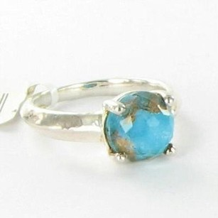 Ippolita Ippolita Ring Rock Candy Single Stone Quartz Bronze Turquoise 925
