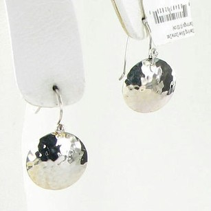 Ippolita Ippolita Rock Earrings Glamazon Dome Disk 0.02cts Diamonds 925