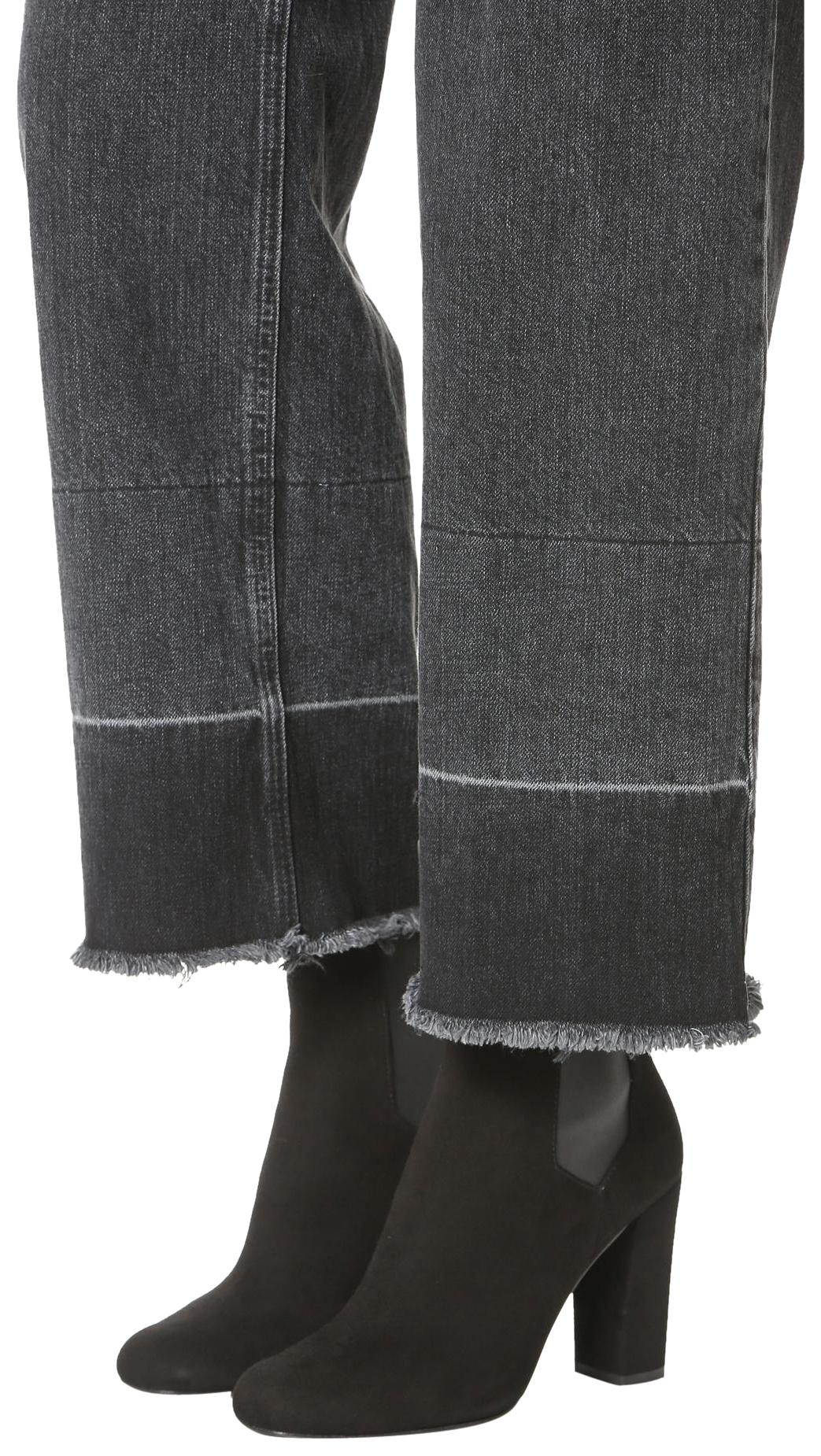544249227e86 IRO Black 6 Chelsea Suede Boots Booties Size US 6 Black Regular (M ...