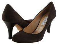 Isaac Mizrahi Bambi Suede Dark Brown Platforms
