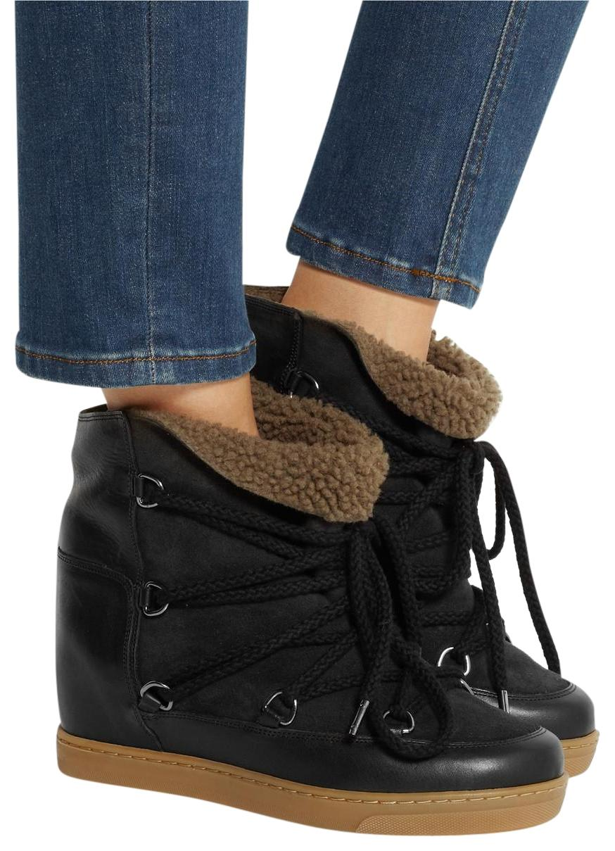 cheap sale finishline Isabel Marant Black Nowles Boots clearance visit new x3oSPS