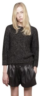 Isabel Marant Chunky Knit Wool Cropped Sweater