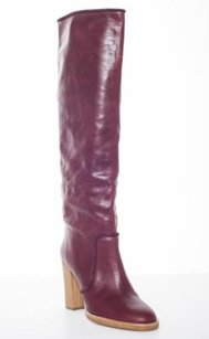 Isabel Marant 70s Leather High Heel Sold Out Knee High Wine Boots