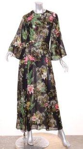 Black Maxi Dress by Isabel Marant Etoile Limited Edition Lightweight Floral Maxi