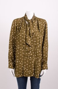 Isabel Marant Brown Top Green