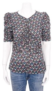 Isabel Marant Etoile Caja Top Multi-Color