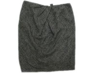 Isda & Co. Co Career Sophisticated Style Soft Tweed Skirt Salt & Peppers