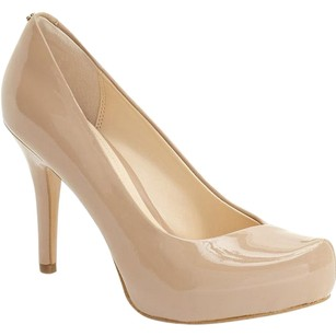 Isola Slimming Sexy Platform Nude Pumps