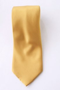 Italo Ferretti Gold 100% Silk Men's Tie