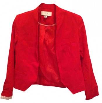 Forever 21 Red Christmas Fourth Of July 21 Blazer