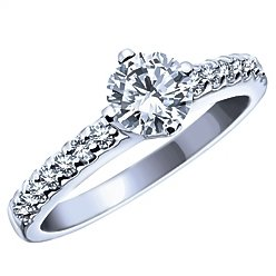 Wedding Ring Set - 1.0 Carat Total Weight Canadian