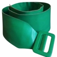 Green Soft Vinyl Belt