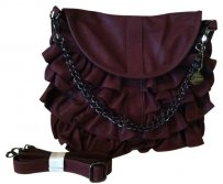 Big Buddha Bag - Satchel in Red Wine