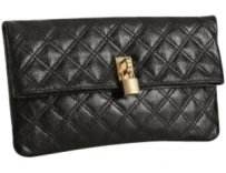 Marc Jacobs Quilted Black Clutch