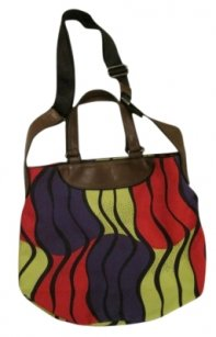 Marni Tote in Pink/ Green Multi
