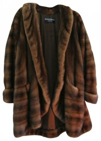 Yves Saint Laurent Fur Coat