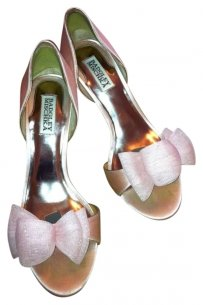 Badgley Mischka Heel Pale Pink Formal
