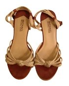 Michael Kors Cognac Wedges