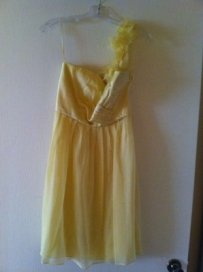 Yellow Sophia Dress