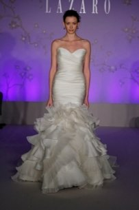 Lazaro 3050 Wedding Dress