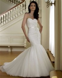 Mon Cheri 111211 #1522 Wedding Dress
