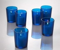 144 Cobalt Blue Votive Holders & 144