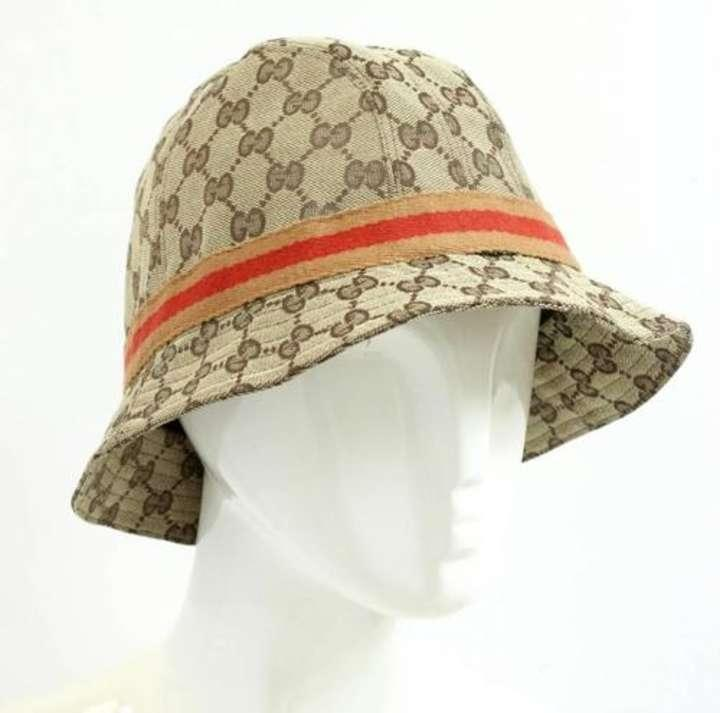 gucci tan hats 76 off gucci accessories tradesy. Black Bedroom Furniture Sets. Home Design Ideas