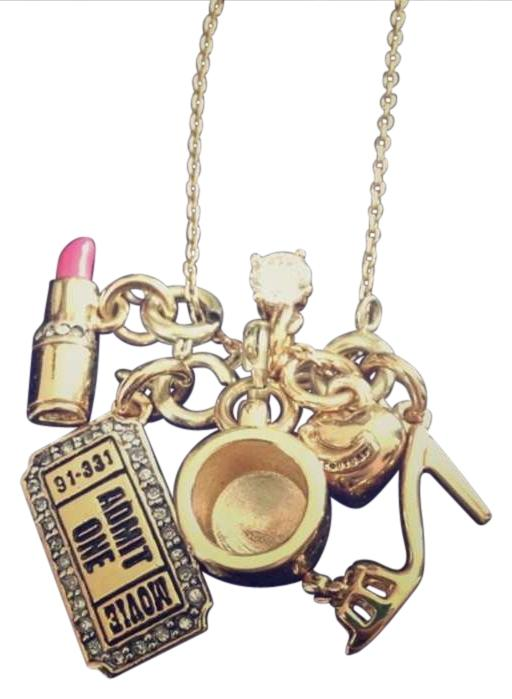 Juicy couture gold toned necklace juicy couture jewelry for Juicy couture jewelry necklace