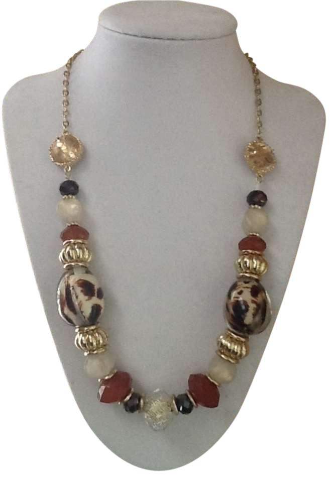 new york company multi color necklace new york
