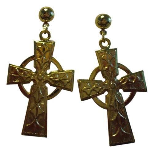 The hottest trend this season has to be the oversized cross earrings. First seen on the D&G catwalk, these baroque inspired, royal-like pieces make a real statement – so be sure to show them off right by slicking back the hair, keeping the ensemble chic and bonus points for airing it with a thick black choker.