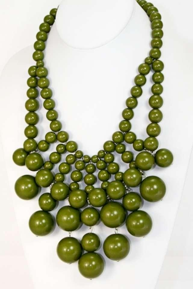 unknown olive necklace unknown jewelry tradesy