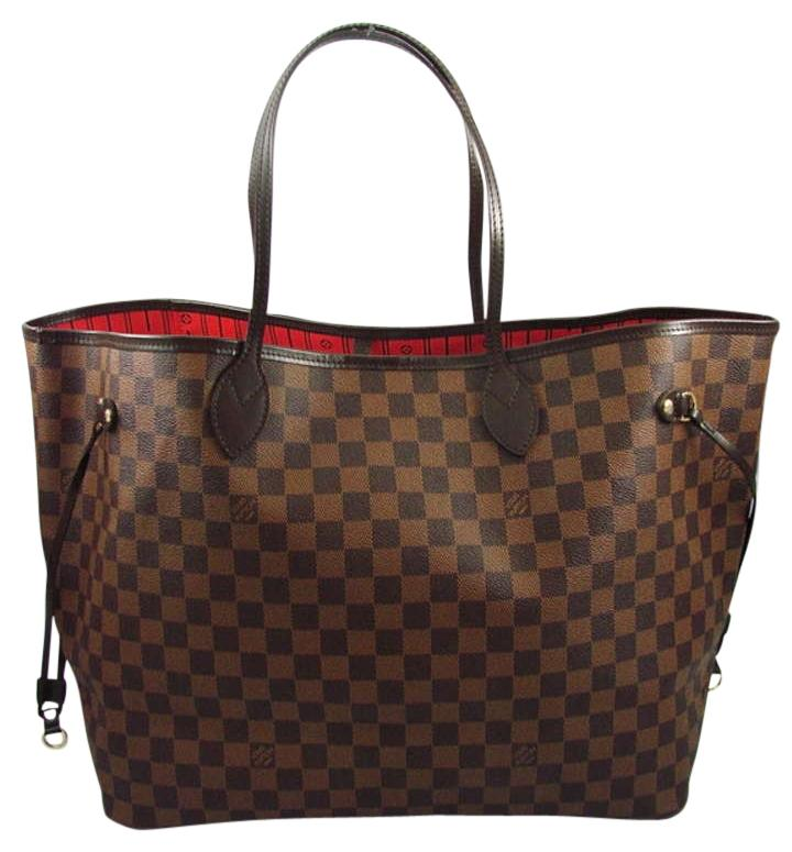 Louis vuitton neverfull gm damier ebene louis vuitton for Louis vuitton miroir bags