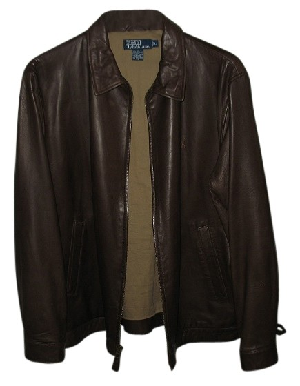 polo ralph lauren jacket brown long 42 off jackets tradesy. Black Bedroom Furniture Sets. Home Design Ideas