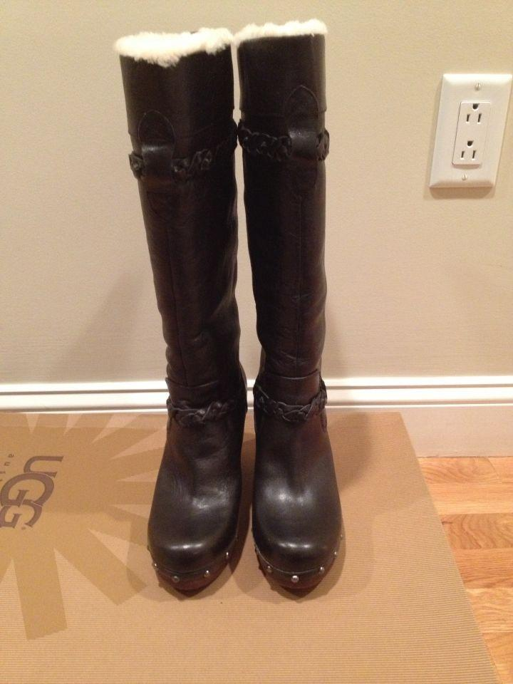 thigh high ugg style boots