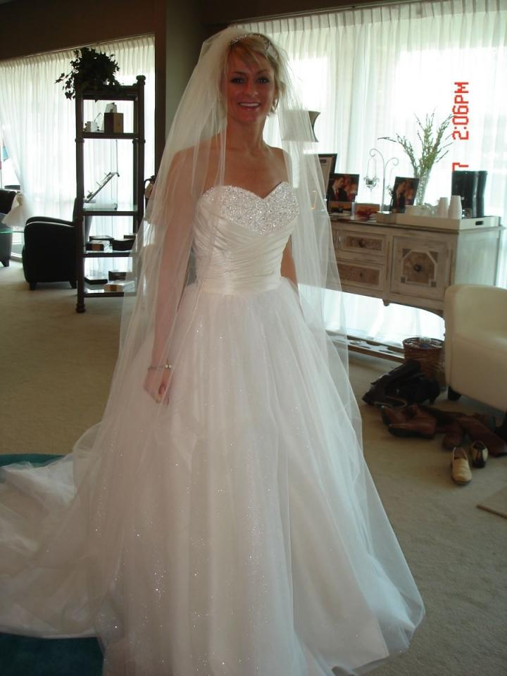 Alfred angelo cinderella style 205 wedding dress tradesy for Cinderella inspired wedding dress
