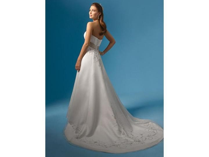 Alfred Angelo Wedding Dresses Reviews : Alfred angelo wedding dress tradesy weddings