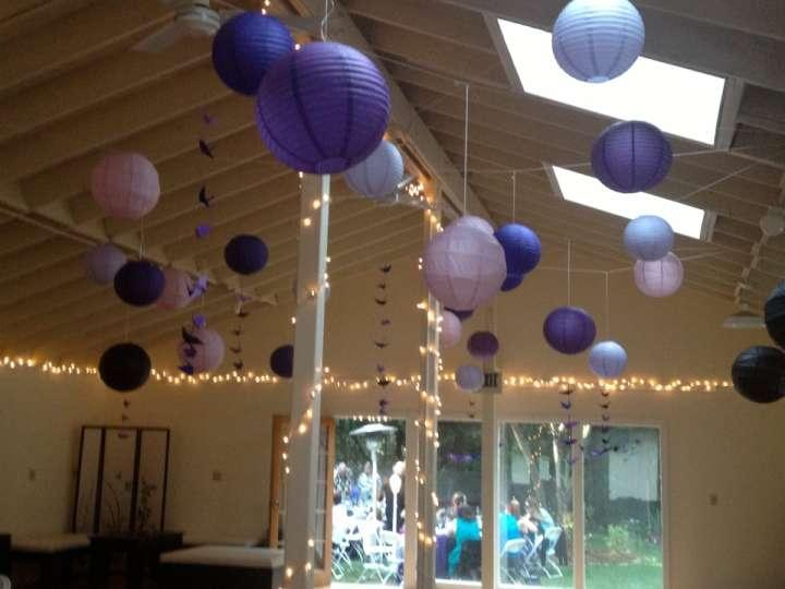 39 paper lanterns in shades of purple with black tradesy - Asian ideas paper lanterns ...