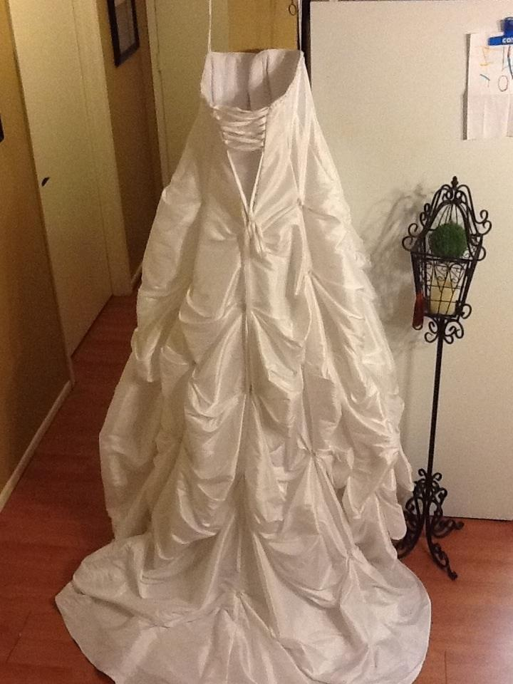 David 39 s bridal for Pick up wedding dress