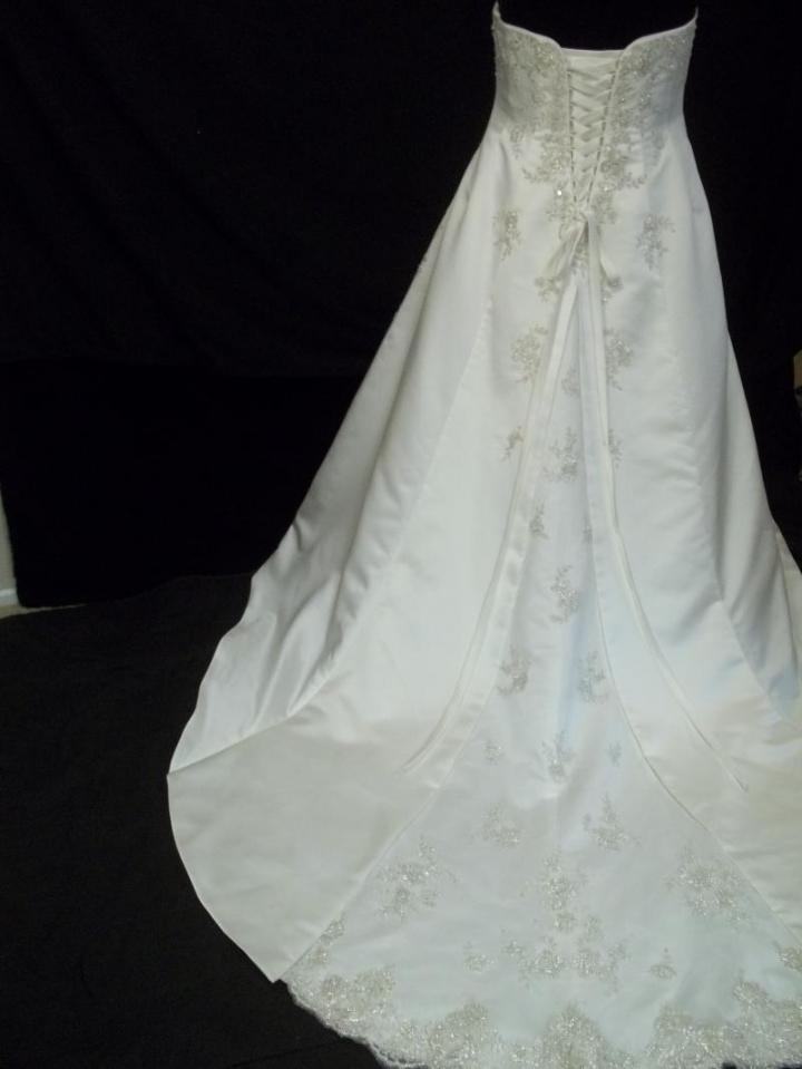 david 39 s bridal clearance make offer wedding dress