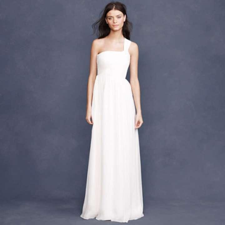 J crew lucienne wedding dress tradesy weddings for J crew wedding dresses