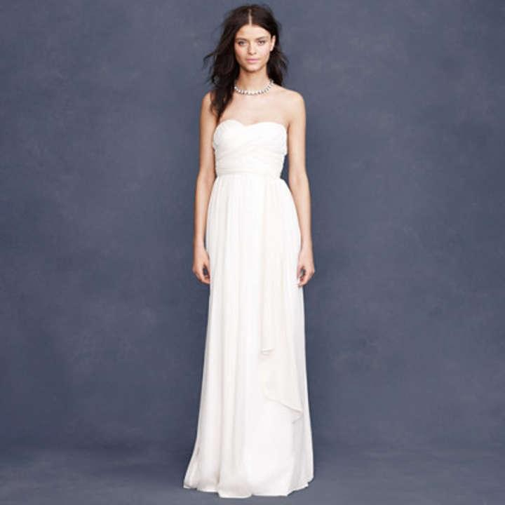 J crew taryn wedding dress for J crew wedding dresses