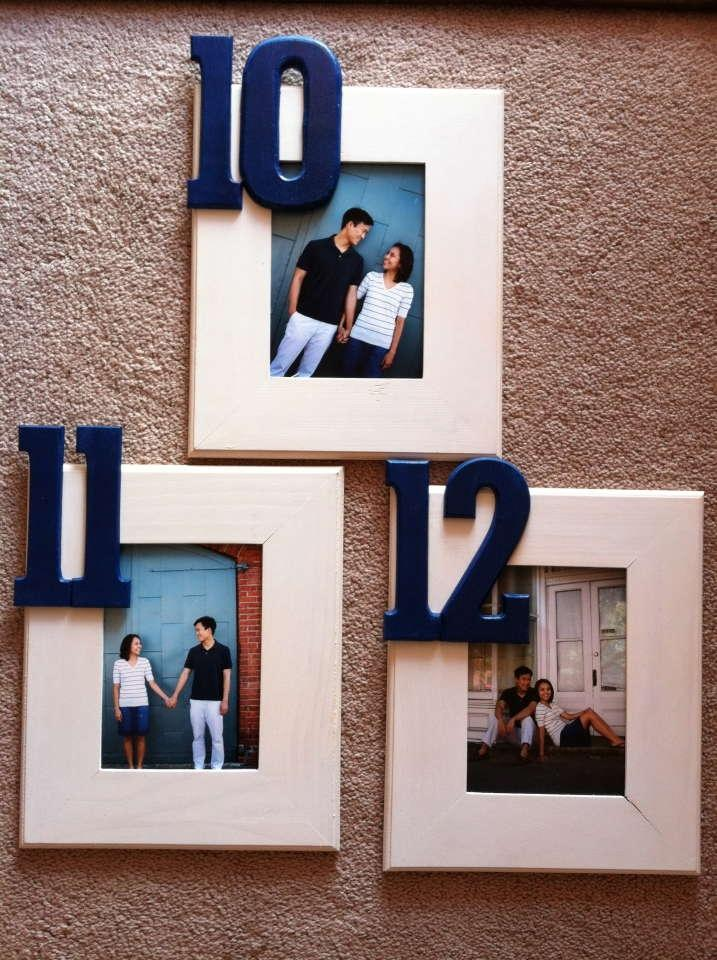 Table Number Wedding Frames 1 12 With Metal Stands Tradesy Weddings