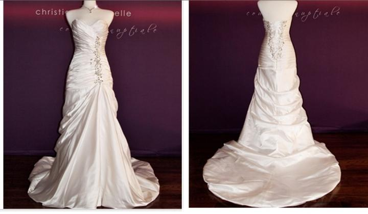 Pnina tornai pnina inspired bridal gown fraction of the for Pnina tornai wedding dresses prices